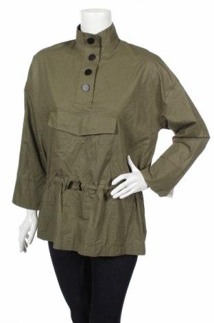 Γυναικεία μπλούζα Zara, Μέγεθος S, Χρώμα Πράσινο, Βαμβάκι, Τιμή 10,83€