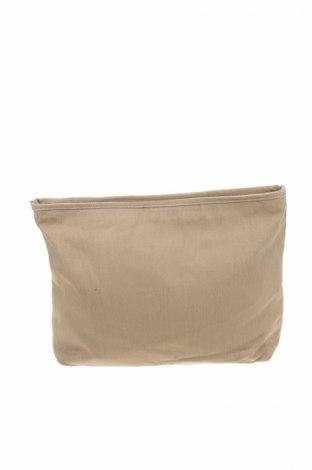 Дамска чанта Zara, Цвят Бежов, Текстил, Цена 13,65лв.