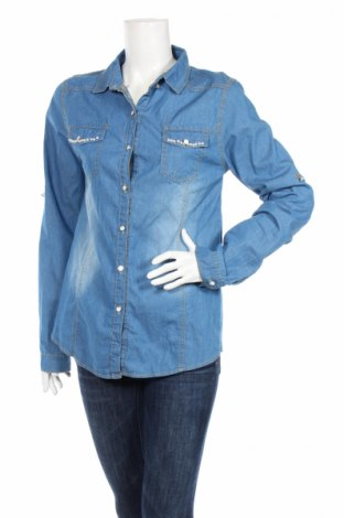 Dámská košile , Rozměr XL, Barva Modrá, 95% bavlna, 5% elastan, Cena  172,00Kč