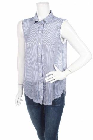 Γυναικείο πουκάμισο H&M, Μέγεθος S, Χρώμα Μπλέ, Πολυεστέρας, Τιμή 3,64€