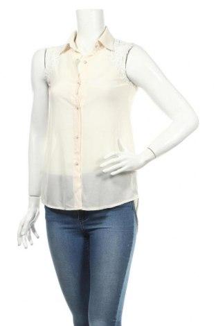 Дамска риза Liu Li, Размер S, Цвят Екрю, Полиестер, Цена 3,94лв.