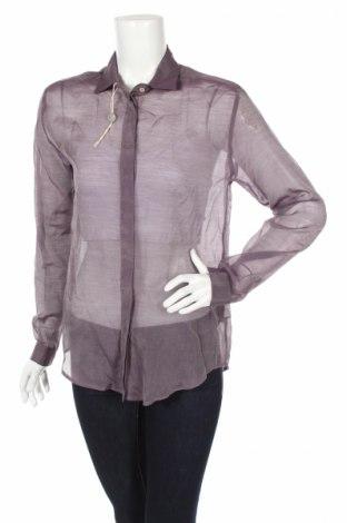 Dámska košeľa  MSGM, Veľkosť M, Farba Fialová, 67% bavlna, 33% hodváb , Cena  49,18€