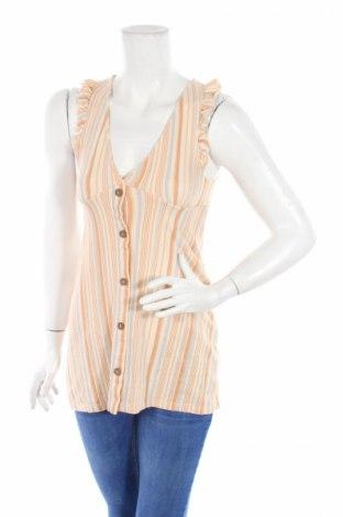 Дамска риза Pull&Bear, Размер XS, Цвят Многоцветен, 100% памук, Цена 7,15лв.