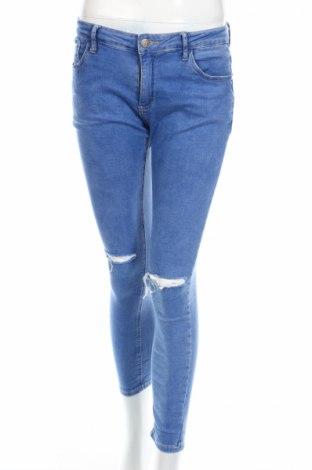Dámské džíny , Rozměr L, Barva Modrá, 98% bavlna, 2% elastan, Cena  153,00Kč