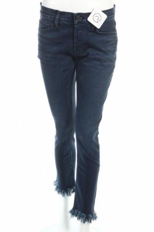 Дамски дънки Hudson, Размер M, Цвят Син, 98% памук, 2% полиуретан, Цена 53,30лв.