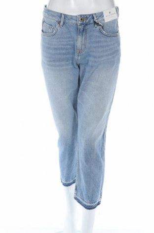 Blugi de femei Jack Wills, Mărime M, Culoare Albastru, Bumbac, Preț 93,55 Lei