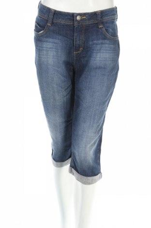 Blugi de femei Yessica, Mărime L, Culoare Albastru, 99% bumbac, 1% elastan, Preț 20,53 Lei
