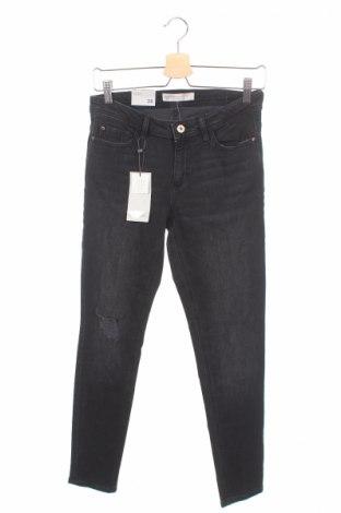 Dámské džíny  Zara, Rozměr M, Barva Černá, 98% bavlna, 2% elastan, Cena  720,00Kč