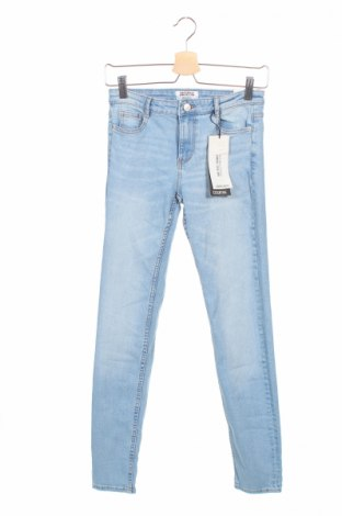 Dámské džíny  Zara Trafaluc, Rozměr M, Barva Modrá, 98% bavlna, 2% elastan, Cena  360,00Kč