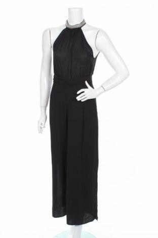 Дамски гащеризон Zara, Размер S, Цвят Черен, Полиестер, Цена 31,15лв.