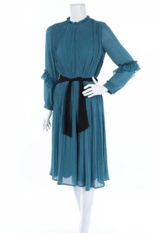 Salopetă de femei Zara, Mărime S, Culoare Albastru, Poliester, Preț 90,79 Lei