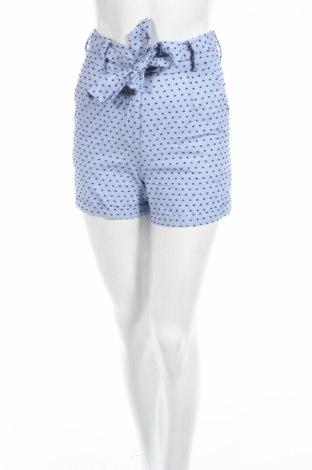 Дамски къс панталон Edited, Размер XXS, Цвят Син, Памук, Цена 16,07лв.