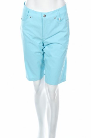 Дамски къс панталон Golfino, Размер L, Цвят Син, 94% полиамид, 6% еластан, Цена 20,80лв.