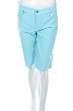 Γυναικείο κοντό παντελόνι Golfino, Μέγεθος M, Χρώμα Μπλέ, 94% πολυαμίδη, 6% ελαστάνη, Τιμή 10,09€