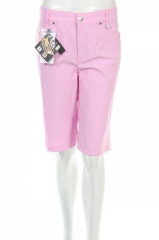 Дамски къс панталон Golfino, Размер L, Цвят Розов, 94% полиамид, 6% еластан, Цена 20,80лв.