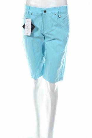 Дамски къс панталон Golfino, Размер M, Цвят Син, 94% полиамид, 6% еластан, Цена 20,80лв.