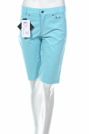 Дамски къс панталон Golfino, Размер S, Цвят Син, 94% полиамид, 6% еластан, Цена 20,80лв.
