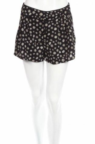 Дамски къс панталон H&M Divided, Размер S, Цвят Черен, 100% полиестер, Цена 4,73лв.