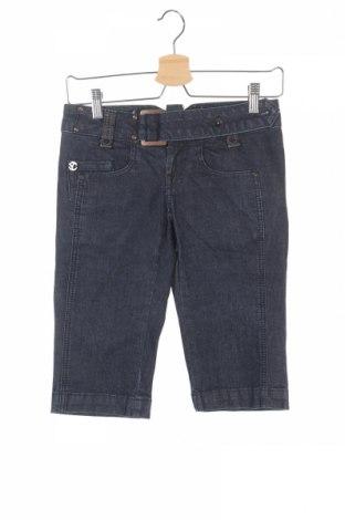 Γυναικείο κοντό παντελόνι Only, Μέγεθος XS, Χρώμα Μπλέ, 98% βαμβάκι, 2% ελαστάνη, Τιμή 5,14€