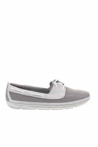 Дамски обувки Clarks, Размер 37, Цвят Сив, Текстил, Цена 57,72лв.
