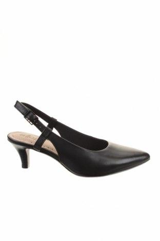 Dámské boty  Clarks, Rozměr 35, Barva Černá, Pravá kůže, Cena  741,00Kč