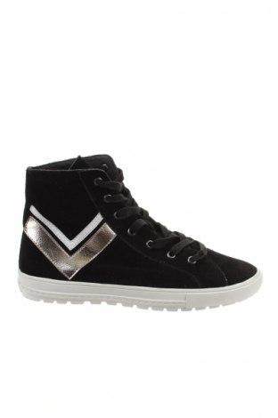 Γυναικεία παπούτσια Reserved, Μέγεθος 38, Χρώμα Μαύρο, Φυσικό σουέτ, Τιμή 16,96€