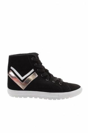 Γυναικεία παπούτσια Reserved, Μέγεθος 38, Χρώμα Μαύρο, Φυσικό σουέτ, Τιμή 8,43€
