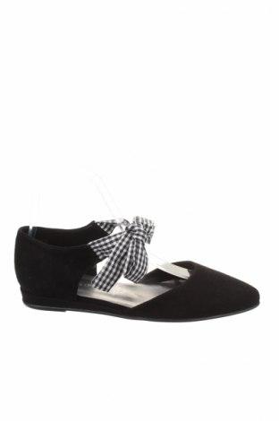 Γυναικεία παπούτσια Tamaris, Μέγεθος 36, Χρώμα Μαύρο, Φυσικό σουέτ, Τιμή 22,48€