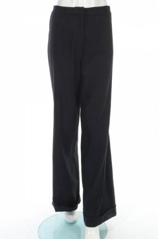 Дамски панталон Anna Riska, Размер L, Цвят Син, 62% памук, 35% полиестер, 3% еластан, Цена 17,55лв.
