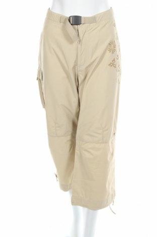 Дамски панталон Luhta, Размер L, Цвят Бежов, Цена 9,66лв.