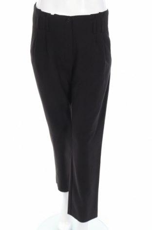 Дамски панталон Mark Adam, Размер S, Цвят Черен, 63% полиестер, 33% вискоза, 4% еластан, Цена 6,25лв.