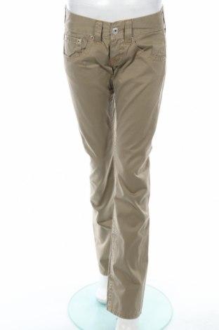 Дамски панталон Replay, Размер S, Цвят Зелен, Памук, Цена 12,13лв.