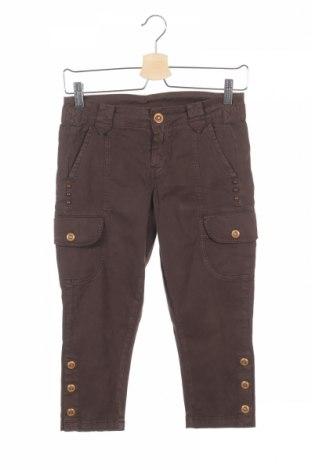 Дамски панталон Replay, Размер XS, Цвят Кафяв, 98% памук, 2% еластан, Цена 20,28лв.
