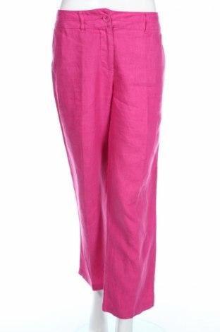 Дамски панталон Sixth Sens, Размер M, Цвят Розов, Лен, Цена 9,92лв.