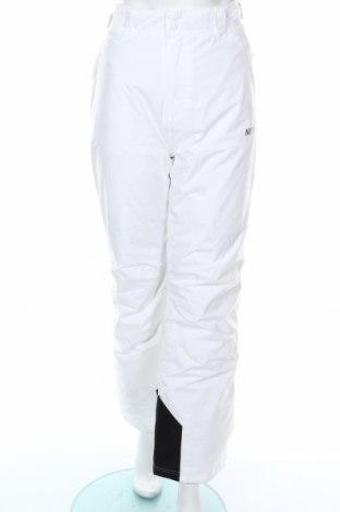 Дамски панталон за зимни спортове Nevica, Размер M, Цвят Бял, Полиестер, Цена 57,42лв.