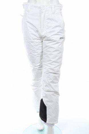 Дамски панталон за зимни спортове Nevica, Размер S, Цвят Бял, Полиестер, Цена 57,42лв.