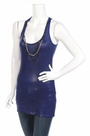 Dámske tielko  Amazing Queen, Veľkosť XS, Farba Modrá, 95% polyester, 5% elastan, Cena  3,40€