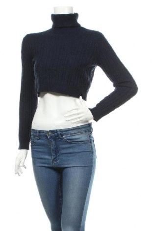 Дамски пуловер Jack Wills, Размер M, Цвят Син, 44% вълна, 36% полиамид, 20% вълна от алпака, Цена 18,86лв.