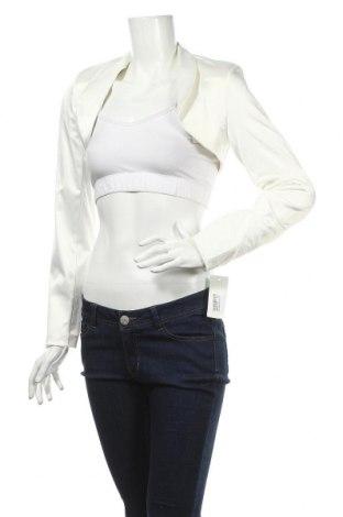 Дамско сако, Размер M, Цвят Бял, 95% полиестер, 5% еластан, Цена 9,50лв.