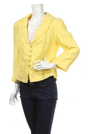 Дамско сако Gerry Weber, Размер L, Цвят Жълт, Цена 41,16лв.
