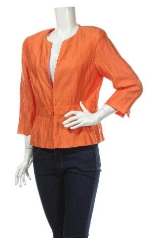 Дамско сако Gerry Weber, Размер L, Цвят Оранжев, 77% лиосел, 18% полиамид, 5% метални нишки, Цена 41,16лв.