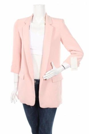 Dámske sako  Zara, Veľkosť XL, Farba Ružová, 97% polyester, 3% elastan, Cena  12,22€