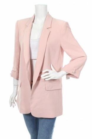 Dámské sako  Zara, Rozměr L, Barva Růžová, 95% polyester, 5% elastan, Cena  350,00Kč