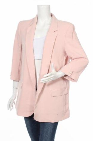Dámske sako  Zara, Veľkosť XL, Farba Ružová, 97% polyester, 3% elastan, Cena  12,45€