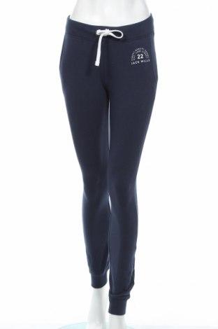 Dámske tepláky Jack Wills, Veľkosť S, Farba Modrá, 95% bavlna, 5% elastan, Cena  24,90€