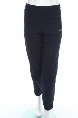 Pantaloni trening de femei Slazenger, Mărime S, Culoare Albastru, Poliester, Preț 45,13 Lei