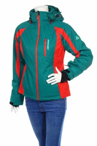 Дамско яке за зимни спортове Anzoni, Размер S, Цвят Зелен, Полиестер, Цена 71,83лв.