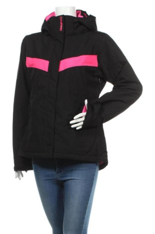 Дамско яке за зимни спортове Campri, Размер M, Цвят Черен, Полиестер, Цена 67,20лв.