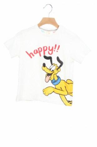 Dziecięca bluzka Zara, Rozmiar 2-3y/ 98-104 cm, Kolor Biały, Bawełna, Cena 35,15zł