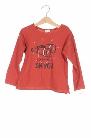 Detská blúzka  Zara, Veľkosť 2-3y/ 98-104 cm, Farba Červená, Bavlna, Cena  5,98€